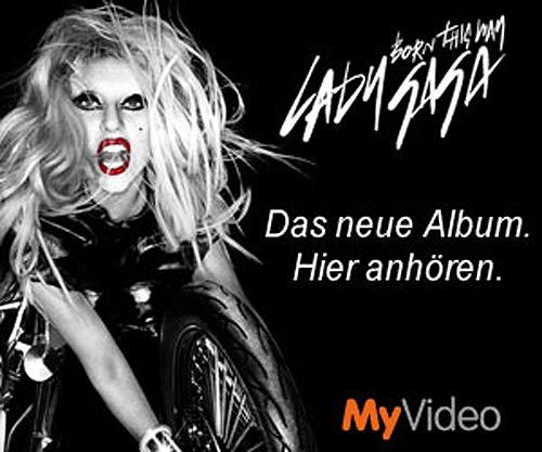 Lady Gaga neues Album Born This Way