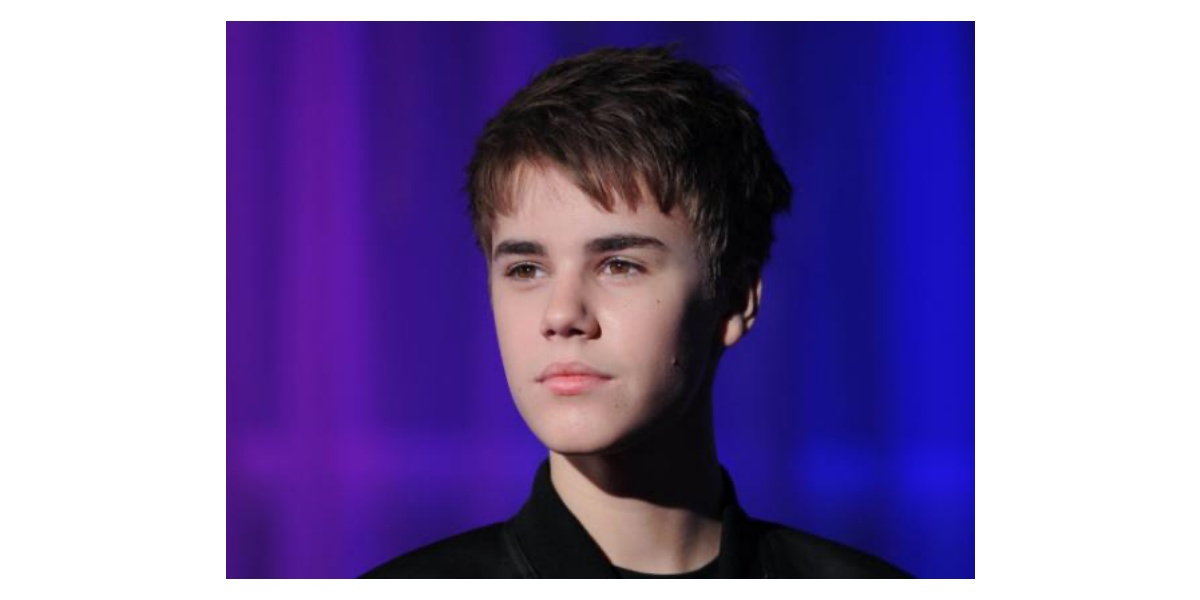 Popstars Justin Bieber
