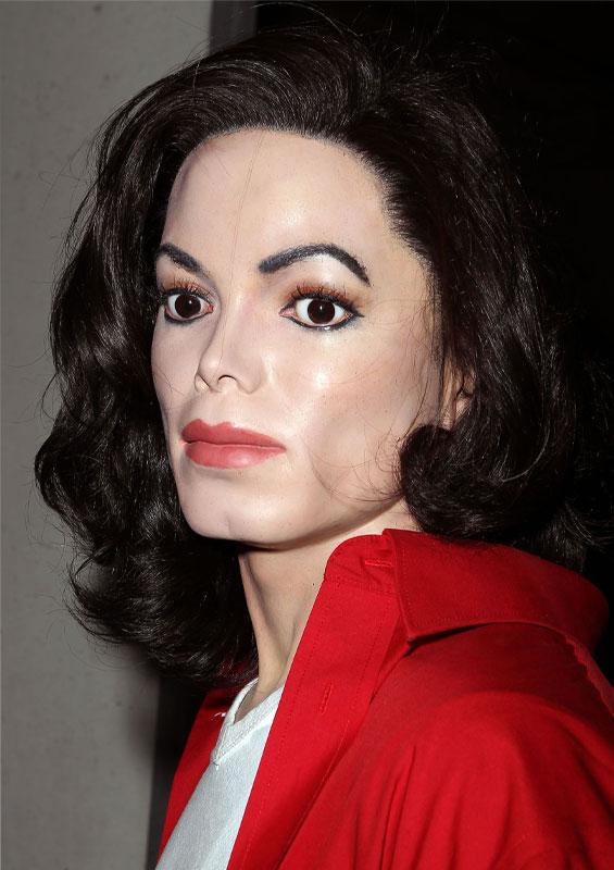 Michael Jackson-eklige Wachsfigur