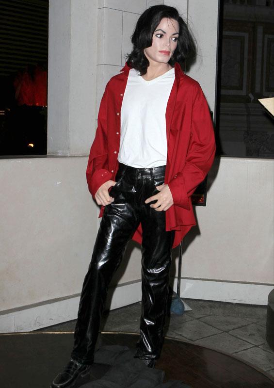 Wachsfigur von Michael Jackson
