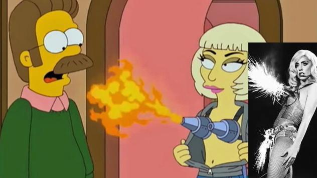 """Lady Gaga wird """"Simpsons""""-Figur"""