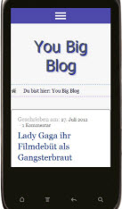 you-big-blog.com Mobiler version