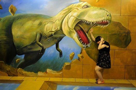 Angst vor Dinos