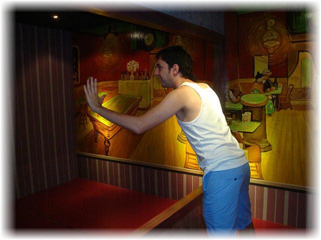 Pseudo-3D Bild-China Restaurant