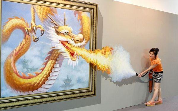 Der Feuer-Drache