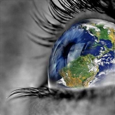 Siehe auf dein Leben und die andere Seite der Welt