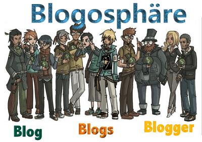 heutige Blogosphäre, in der letzte Zeit