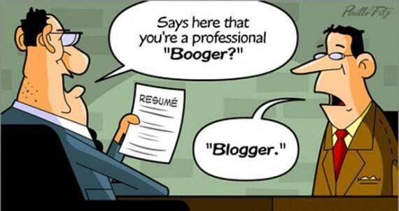 was bist du ein booger, nein ein Blogger