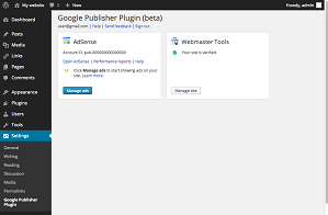 Google Publisher Beta Plugin