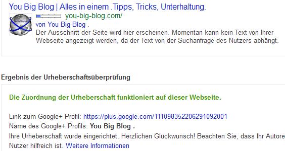 Google Author Urheberschaftsueberpruefen