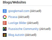 Webseite hinzufügen-eintragen