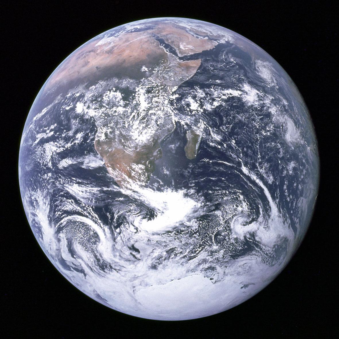 Der blaue Planet aus Kosmos: Dieses Bild der Erde wurde von den Astronauten aus der ISS aufgenommen. Foto: djd/National Geografic Channel/NASA