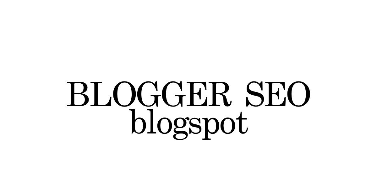 SEO Pack blogspot