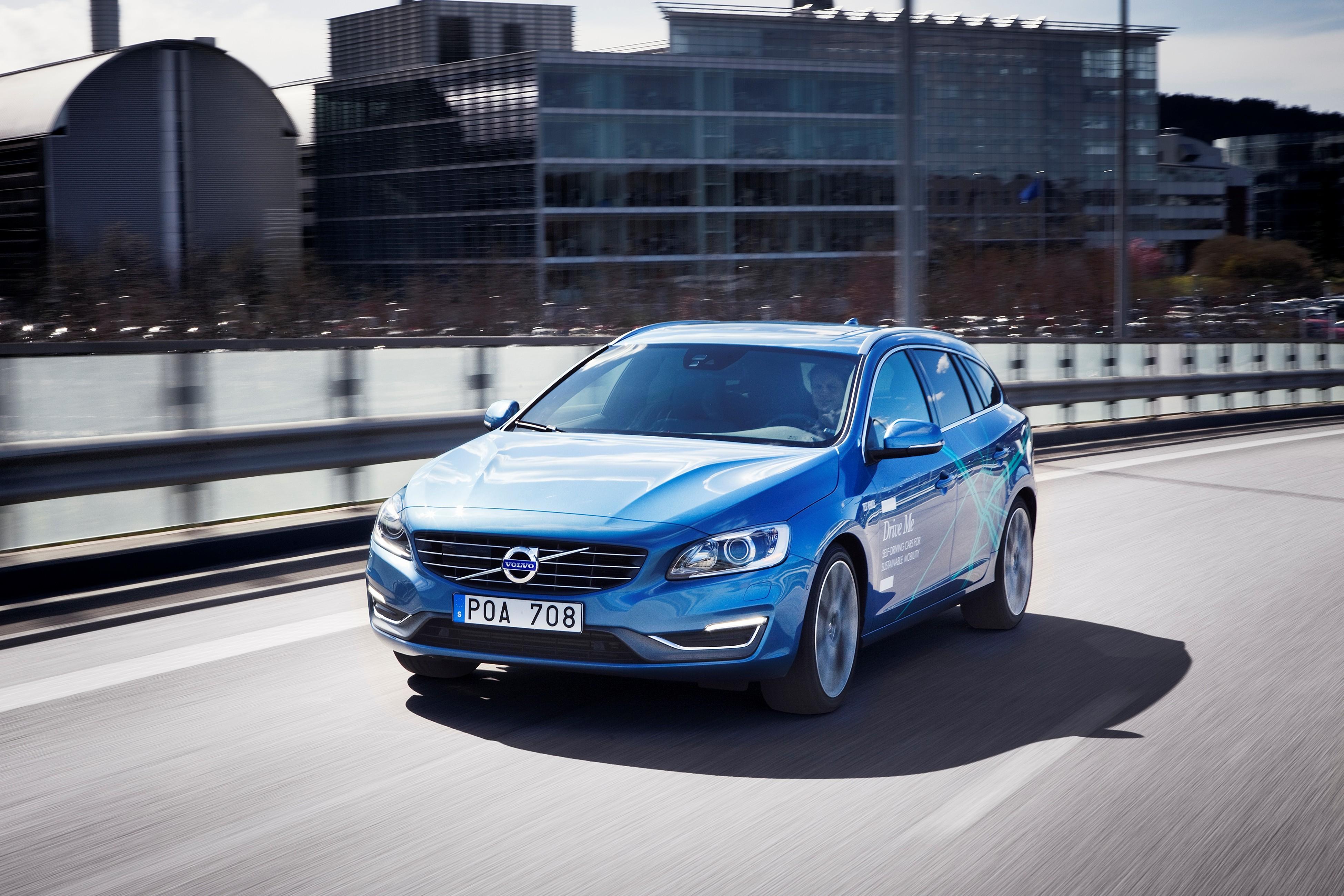 Volvo hat in Göteborg bereits testweise autonome Autos in den Straßenverkehr integriert.