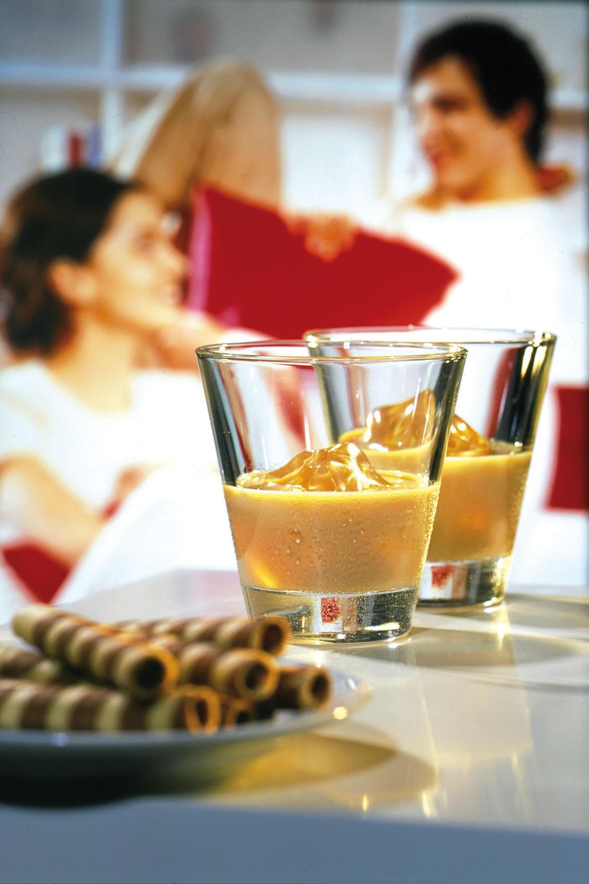 Zum Dessert darf es gern ein Likör mit lieblichem Aroma sein.