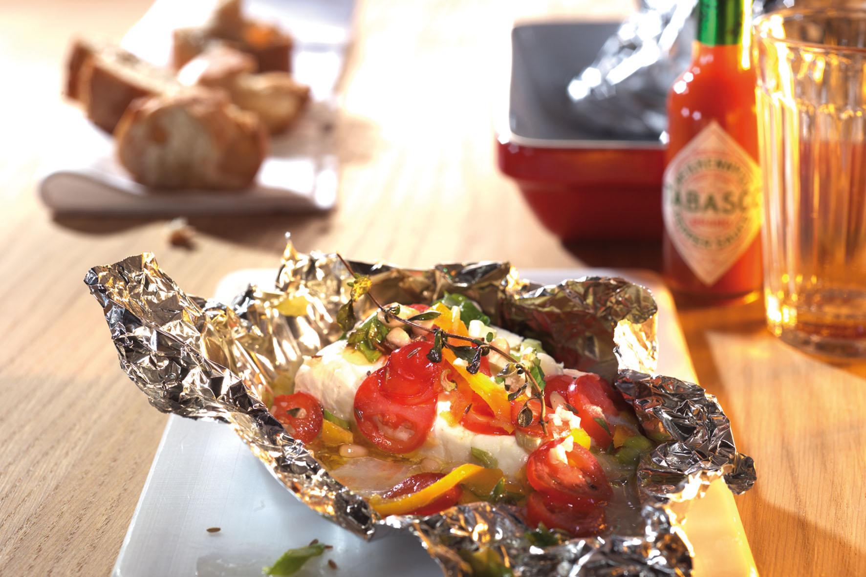 Scharfer Ofen feta: Vegetarische Speisen schmecken peppig gewürzt am besten.