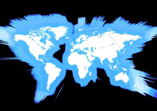 worldmap - ein unbekanntes Land