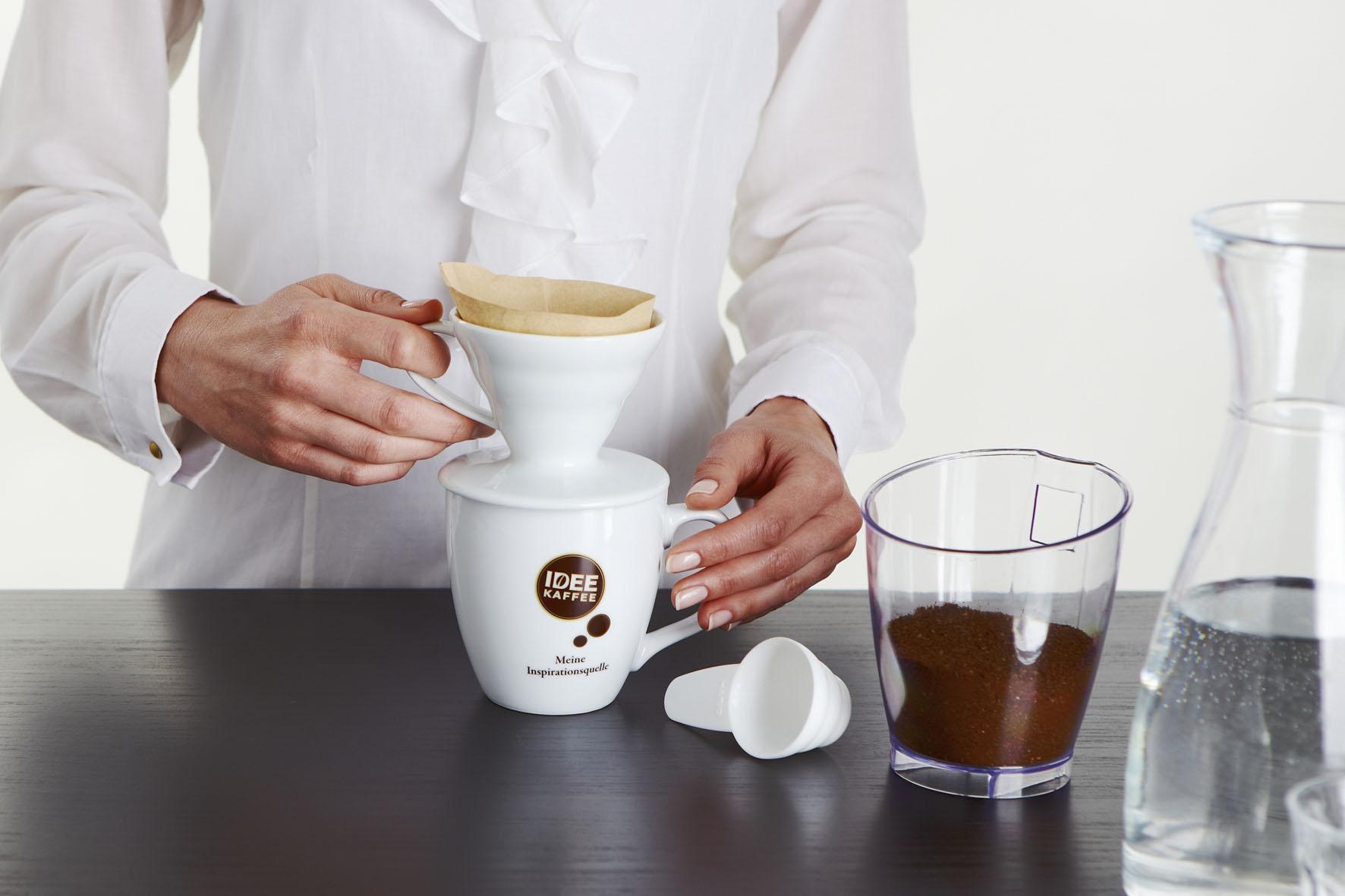 Handgefilteter Kaffee trägt schon bei der genüsslichen Zubereitung zur Entschleunigung bei.