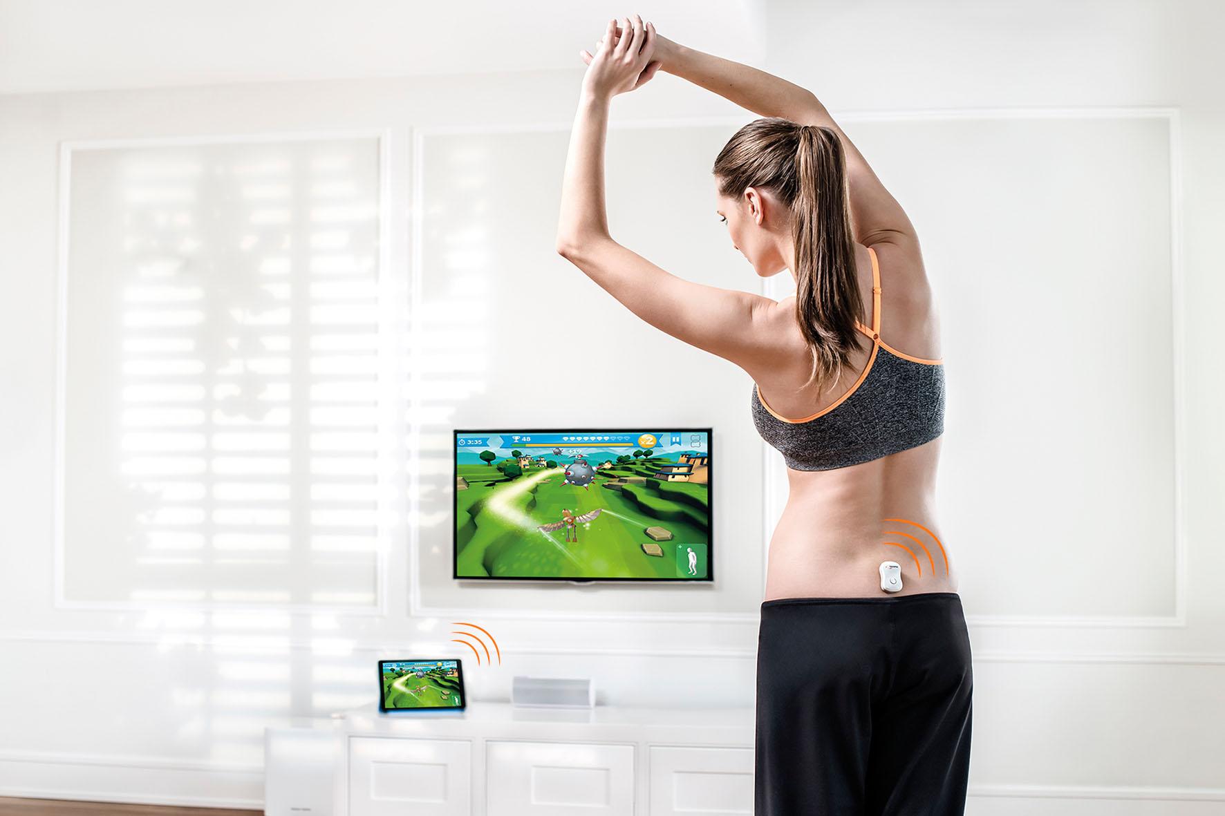 Auf spielerische Art und Weise die Rückenmuskulatur stärken