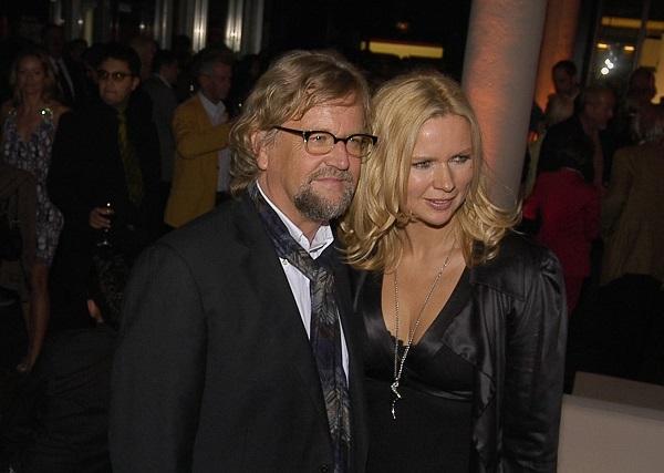Martin Krug hier mit seiner Ex-Frau Veronica Ferres.