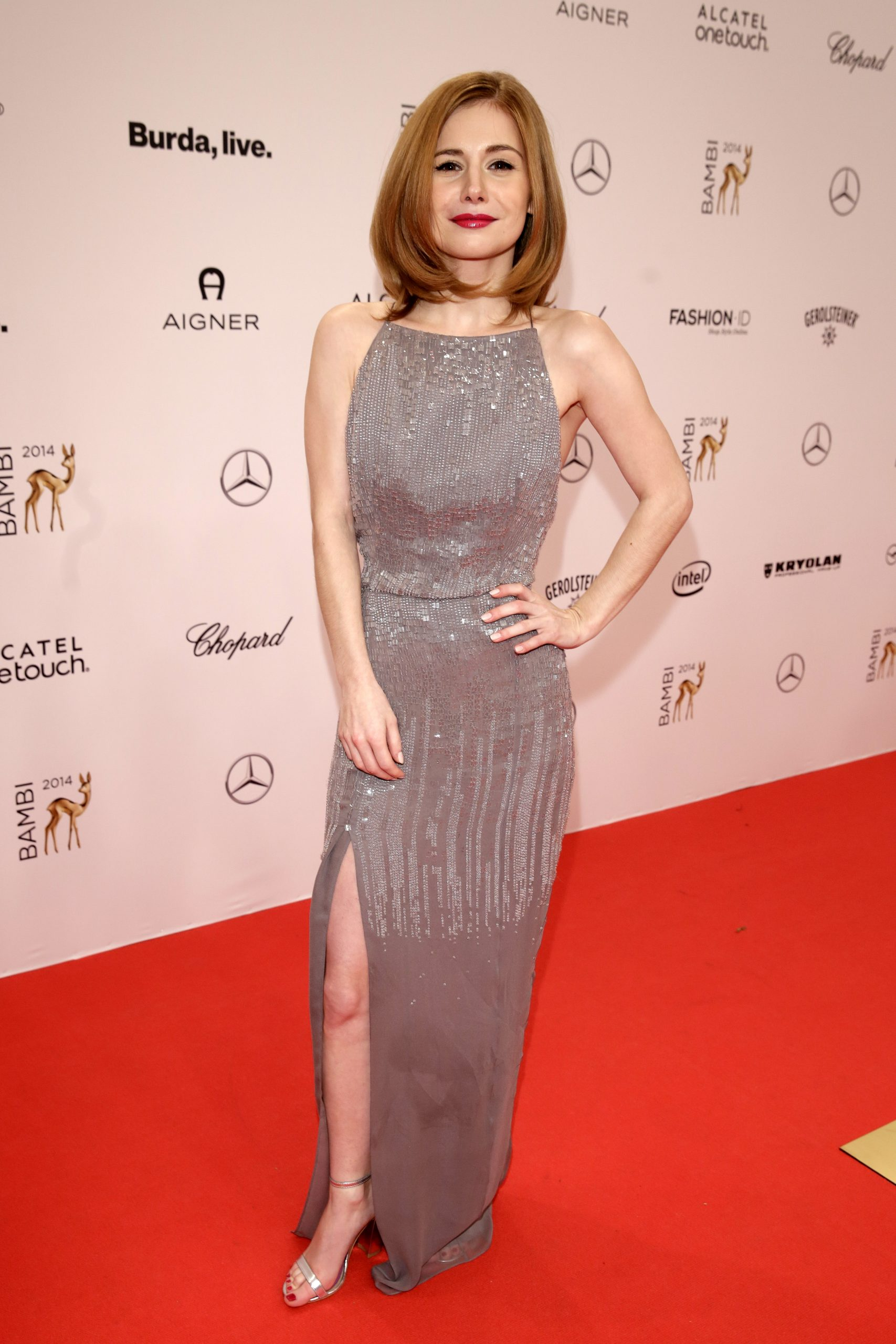 Josefine-Preuss BAMBI 2014 - Roter Teppich in Berlin am 13.11.2014