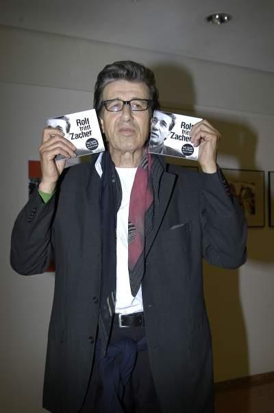 Rolf Zacher spielt gerne skurrile Charaktere.