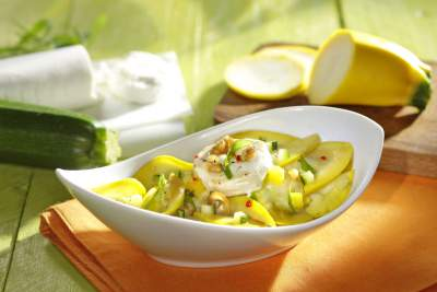 Der Zucchini-Salat