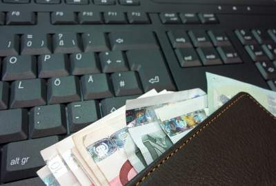 Portemonnaie der Zukunft