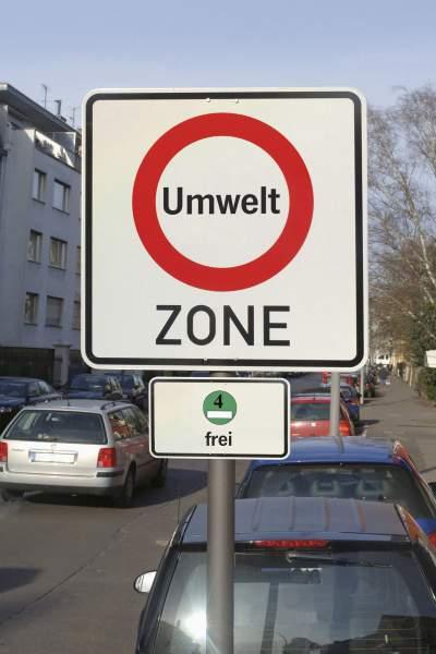 Umwelt zone Für aeltere Dieselfahrzeuge heißt es in vielen Innenstädten