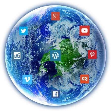 Soziale Netzwerke planet