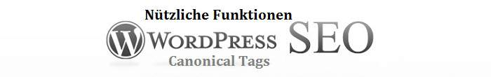funktion Canonical Tags deaktivieren