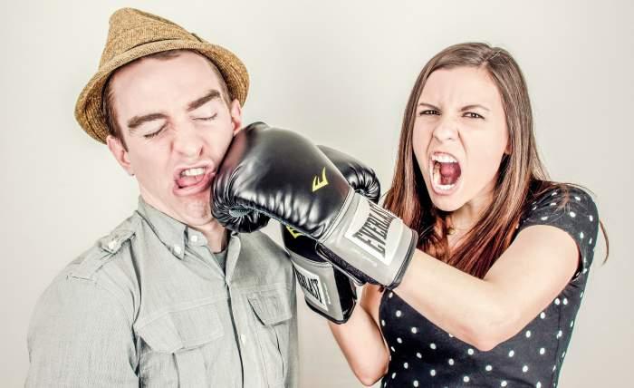 Konflikt zwischen Partnern