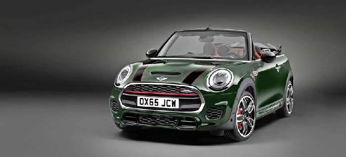 das neue John Cooper Works Mini Cabrio