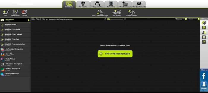 online Bearbeitungsprogramm