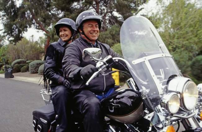 Motorradfahrer Outfit