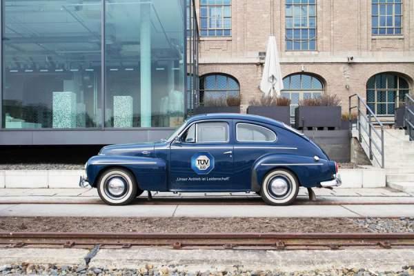 """Oldtimer: Der """"Volvo Typ PV544"""" wurde von 1958"""