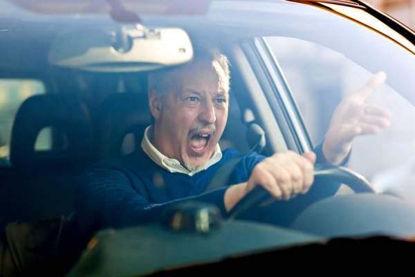 Stress beim fahren