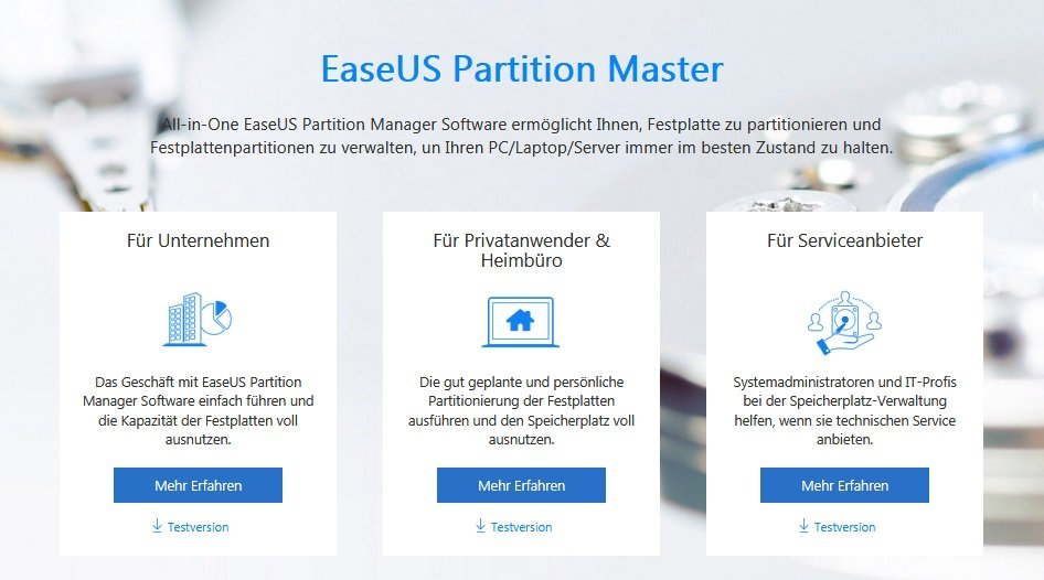 Partitions Master