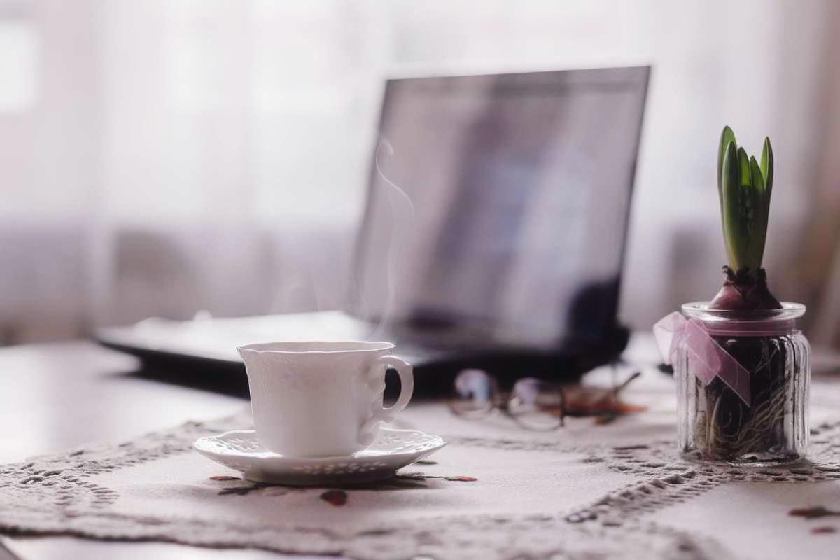 Kaffee-Arbeitspause