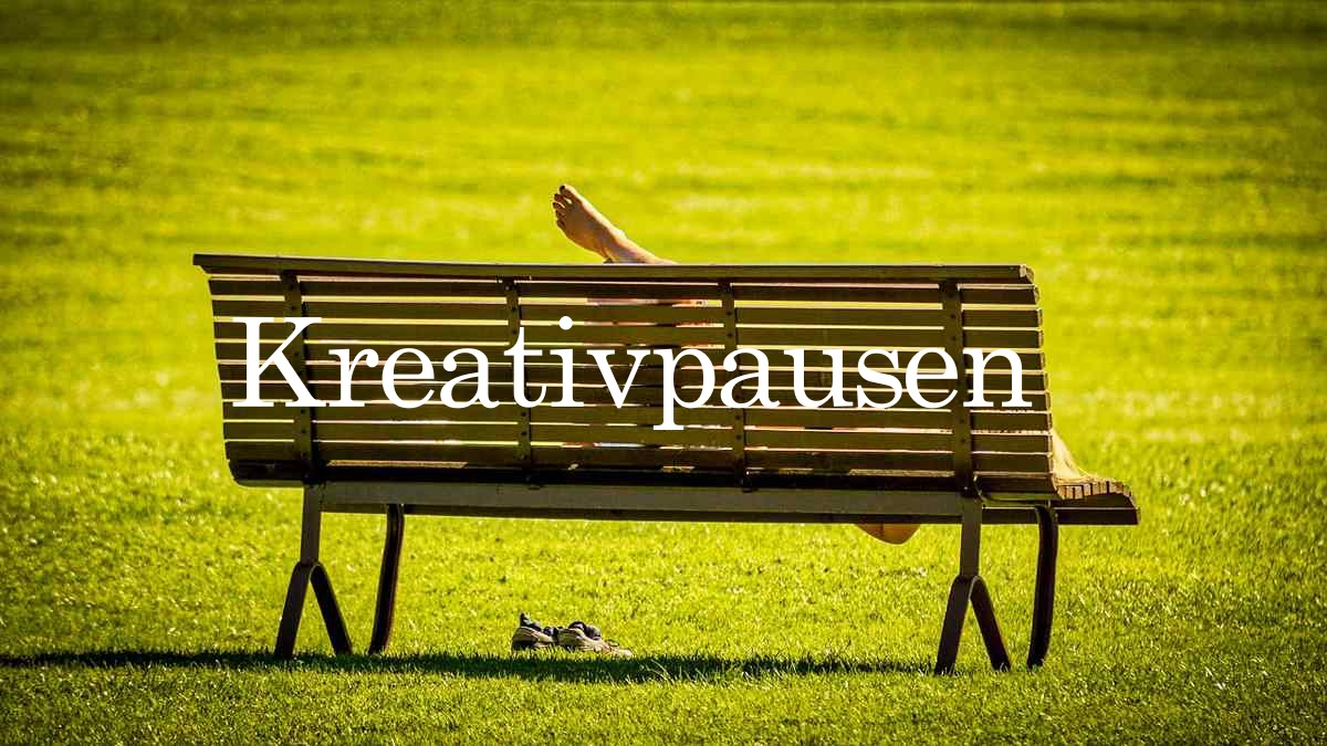 Kreativpause - Chillen