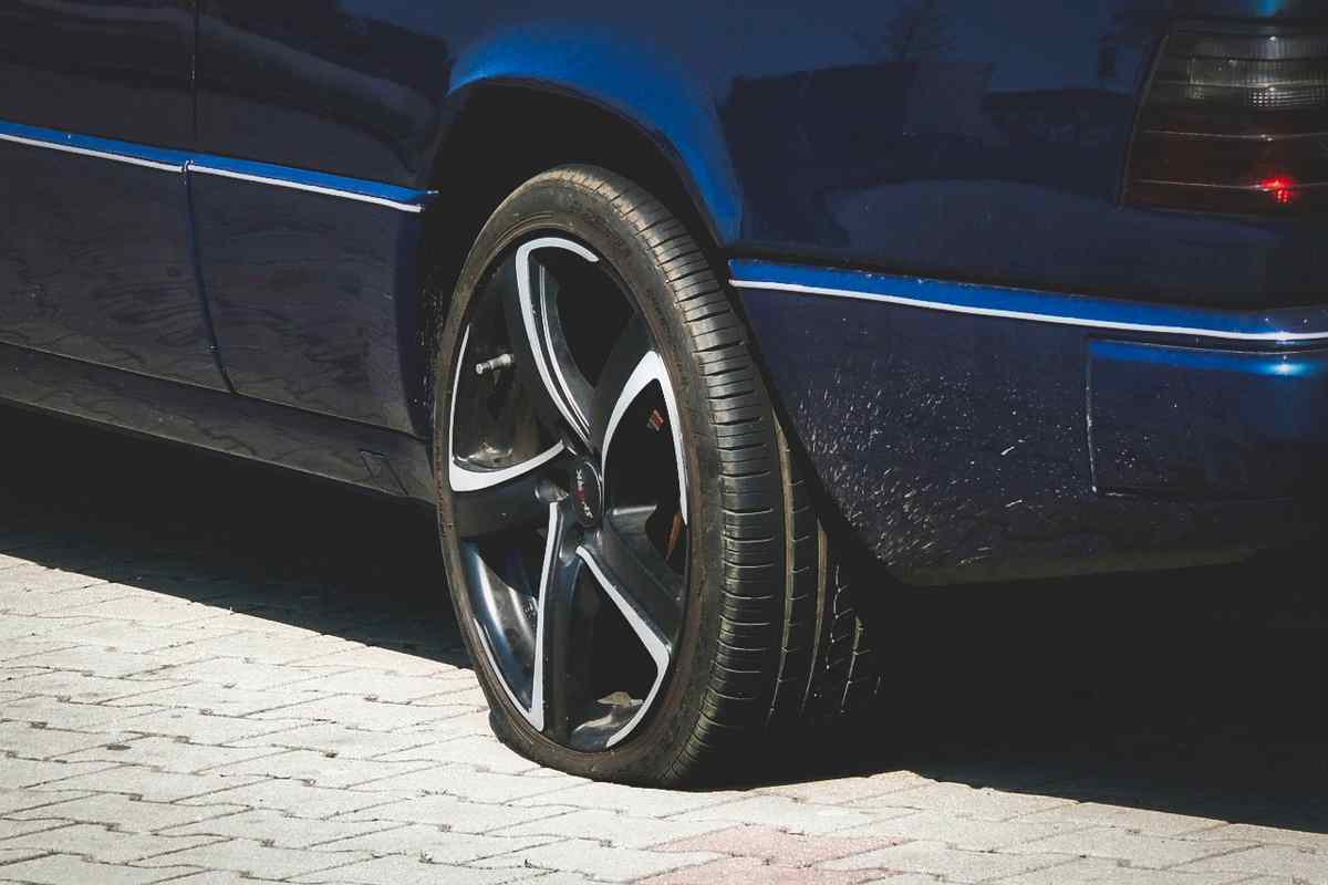 Runflat Reifen Reifenpanne