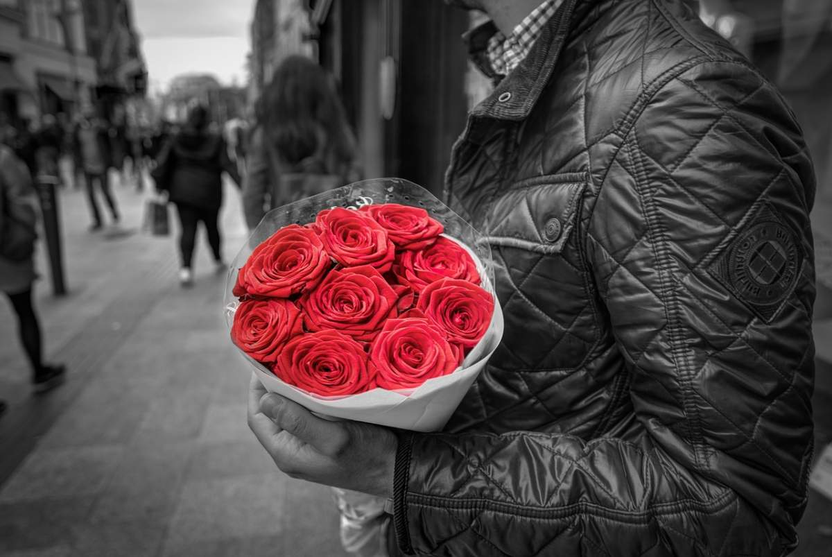 nicht nur Frauen moegen Rosen