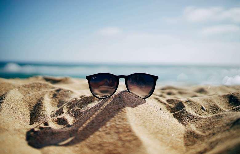Sommer Sand Strand