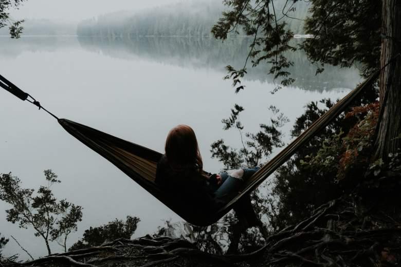 Der Stressbekämpfung- Hängematte-hammock-Stresslos